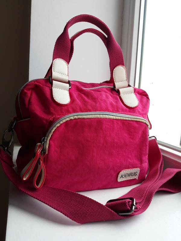 Яркая сумка в спортивном стиле. - Фото 3