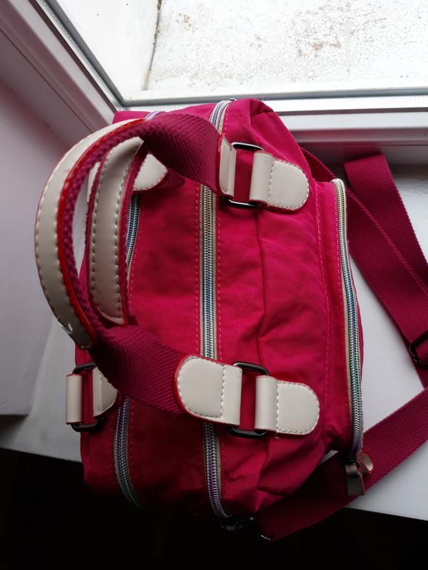 Яркая сумка в спортивном стиле. - Фото 4