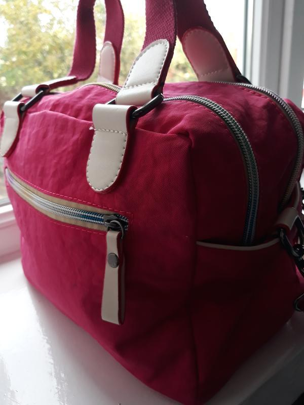 Яркая сумка в спортивном стиле. - Фото 5