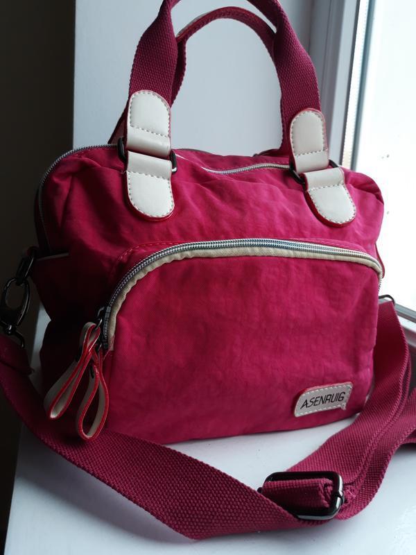 Яркая сумка в спортивном стиле. - Фото 6