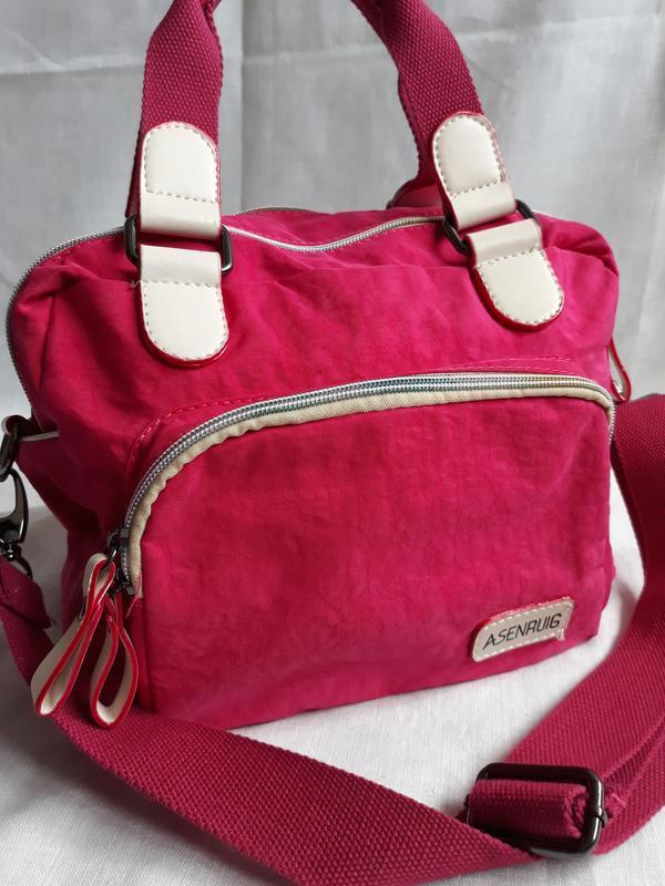 Яркая сумка в спортивном стиле. - Фото 8