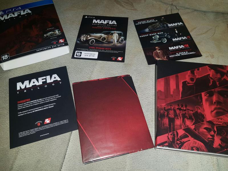 Mafia Trilogy Definitive Edition PS4 Русская версия - Фото 2