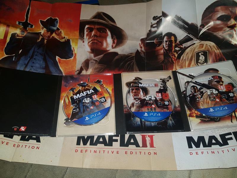 Mafia Trilogy Definitive Edition PS4 Русская версия - Фото 4