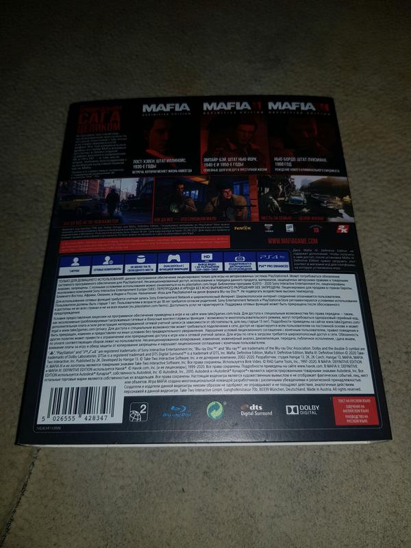 Mafia Trilogy Definitive Edition PS4 Русская версия - Фото 7