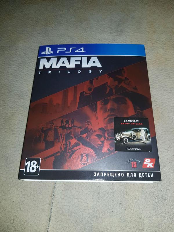 Mafia Trilogy Definitive Edition PS4 Русская версия - Фото 8