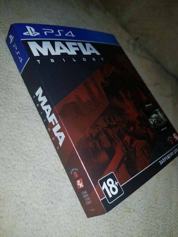 Mafia Trilogy Definitive Edition PS4 Русская версия