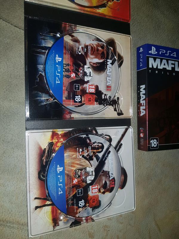 Mafia Trilogy Definitive Edition PS4 Русская версия - Фото 6