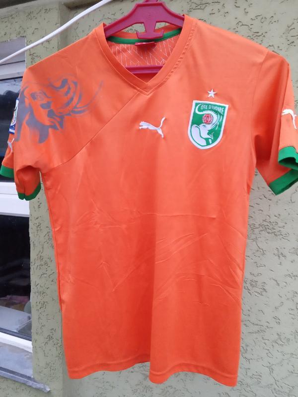Футбольная футболка кот ди вуар пума puma