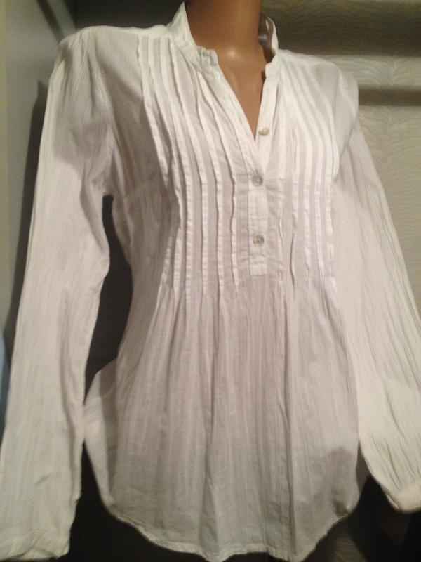 Блузка женская тоненькая хлопок.