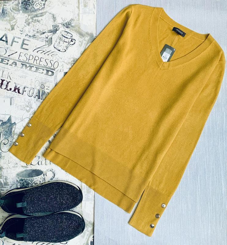 Горчичный пуловер primark размеры.