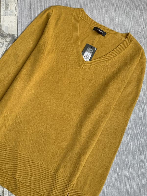 Горчичный пуловер primark размеры. - Фото 2