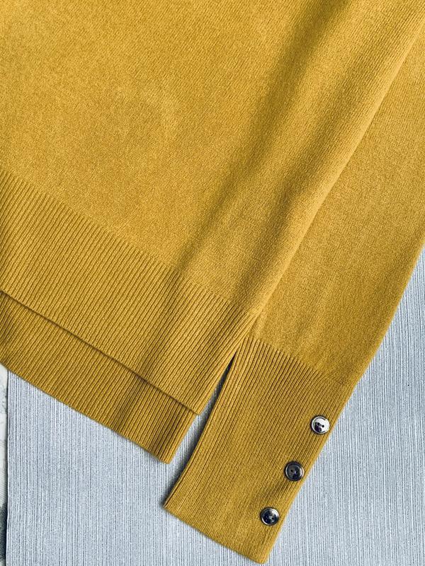Горчичный пуловер primark размеры. - Фото 3