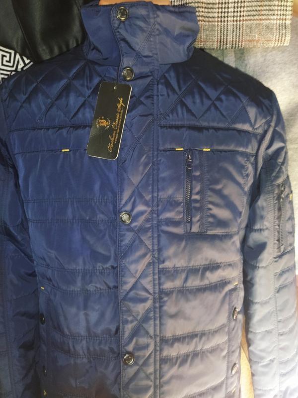 Демисезонная куртка мужская - Фото 2