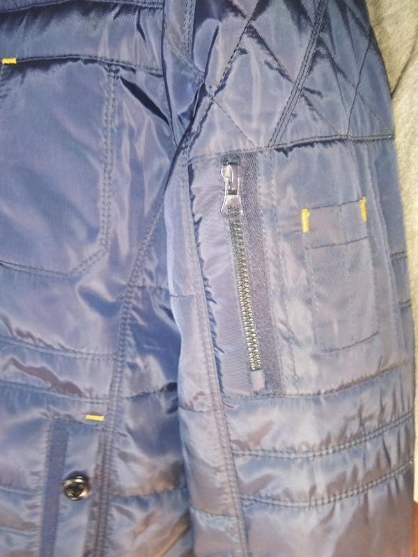 Демисезонная куртка мужская - Фото 3
