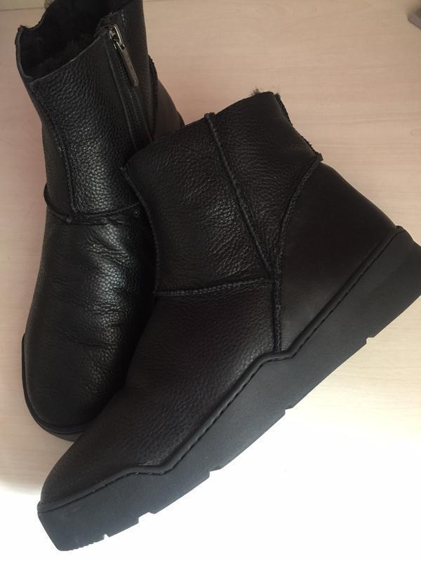 Зимние мужские ботинки на натуральном меху. угги