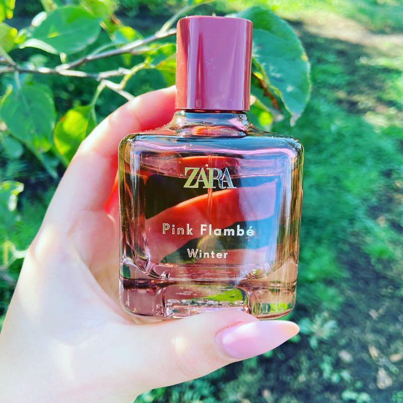 Духи Zara Pink Flambe winter