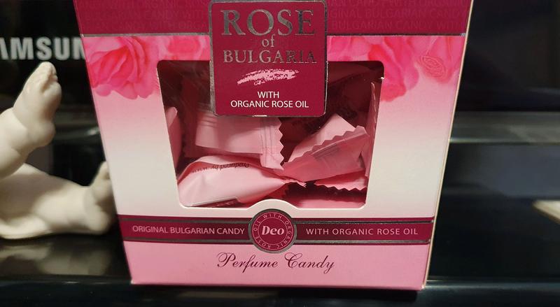 Леденцы с розой (с натуральным розовым маслом)
