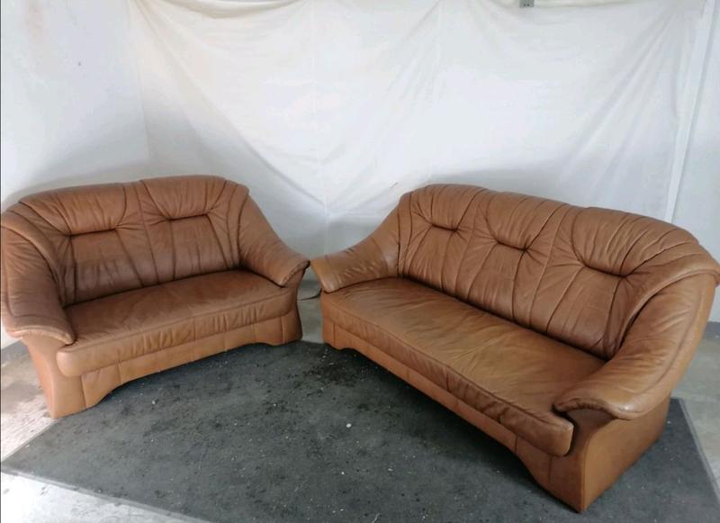Кожаный гарнитур, комплект диванов, кожание диваны
