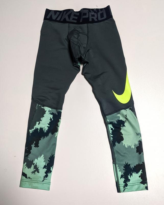 Nike pro hyperwarm лосины компрессионные штаны детские
