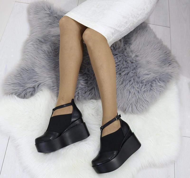 Новые шикарные женские черные туфли - Фото 2