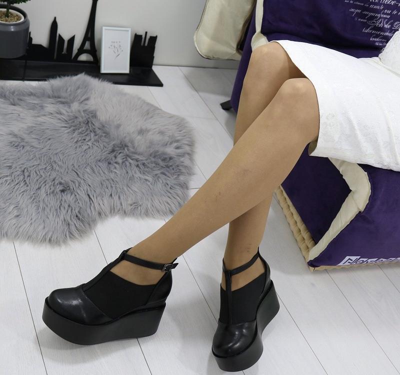 Новые шикарные женские черные туфли - Фото 3