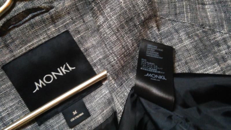Льняной тренч от бренда monki(дания) - Фото 9