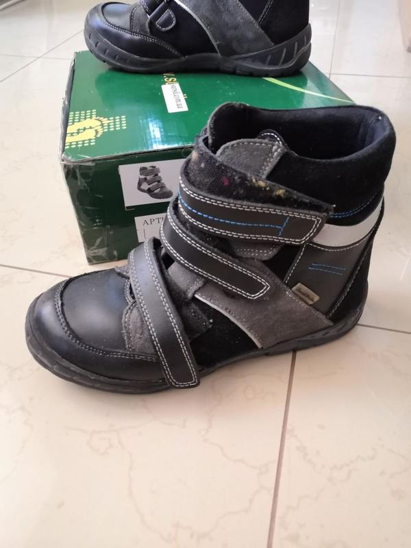 Ортопедические ботинки на подростка