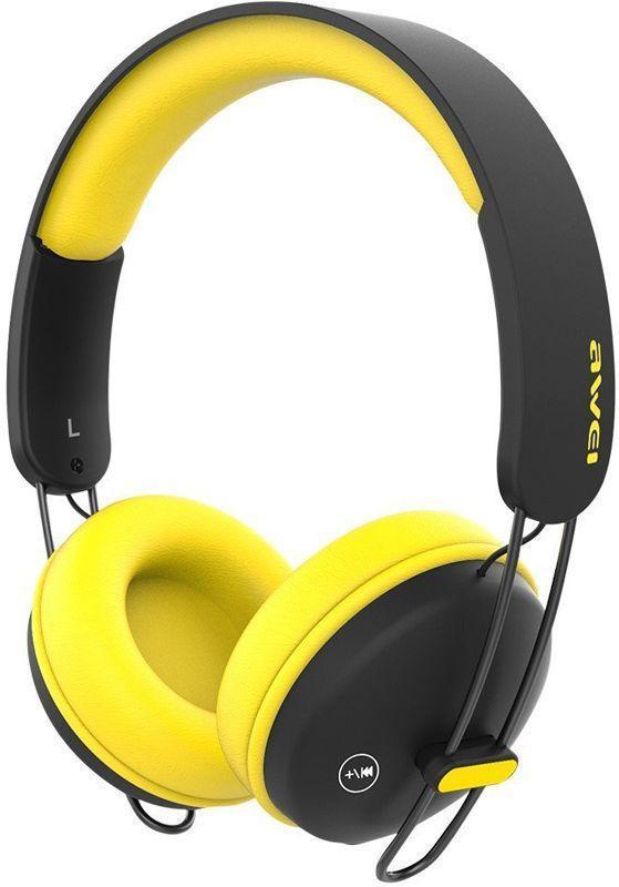 Наушники AWEI A800BL Black-Yellow #I/S  Бренд: Awei