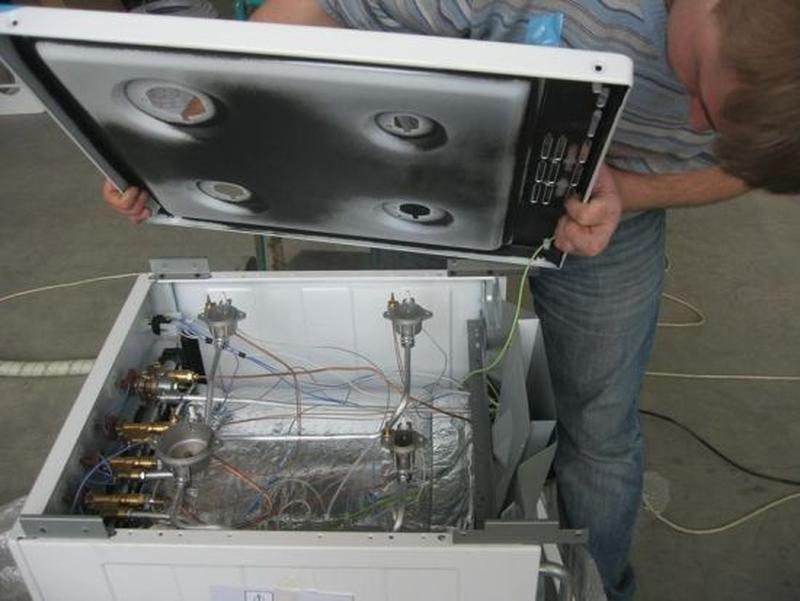 Профилактика,ремонт газовых плит