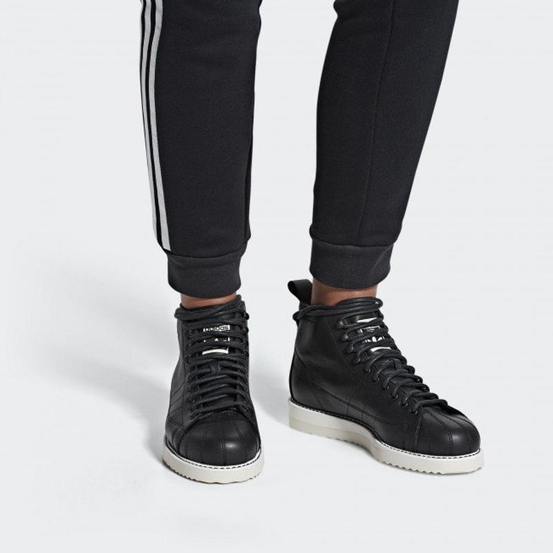 Женские ботинки adidas superstar boot w(артикул:aq1213