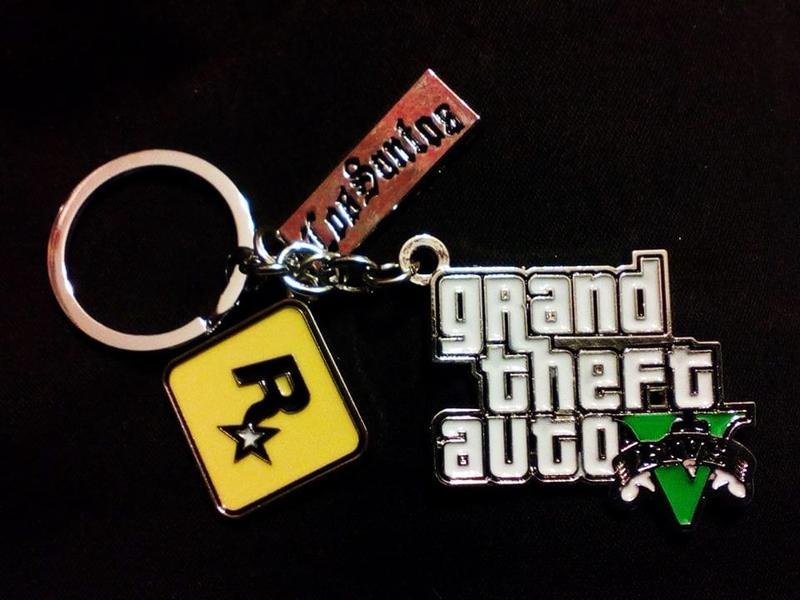 Брелок Grand Theft Auto - GTA V