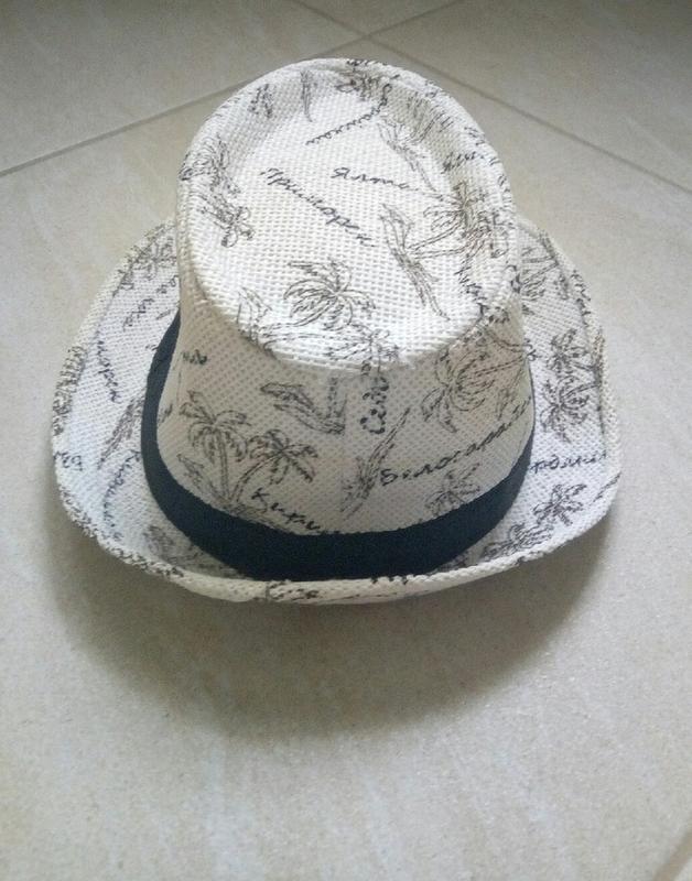 Женская шляпка,челентанка,летняя шляпа,светлая - Фото 3