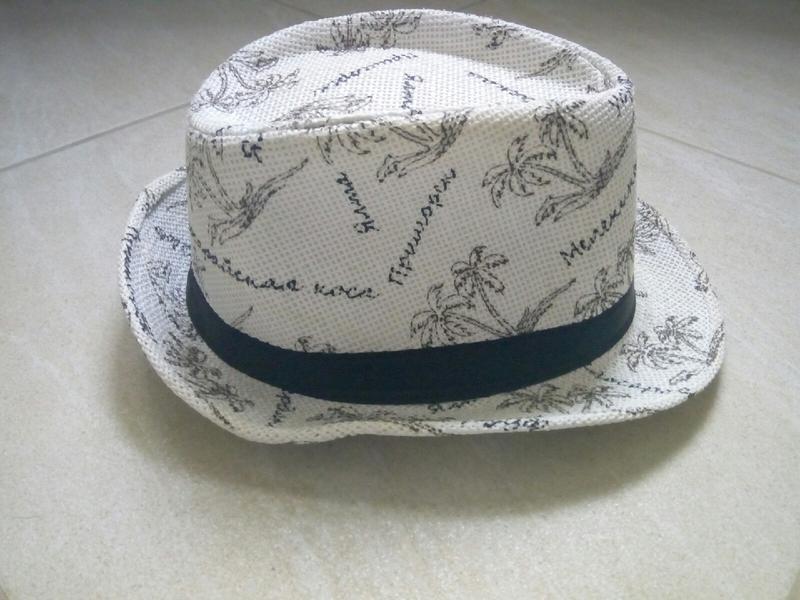 Женская шляпка,челентанка,летняя шляпа,светлая - Фото 4
