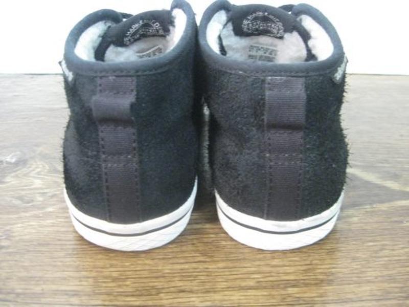 Утепленные замшевые кеды adidas  оригинал р.38 - Фото 7