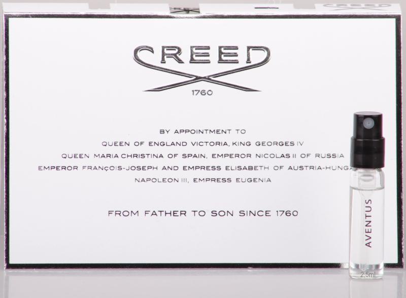 Creed aventus for men_original mini 2,5 мл_миниатюра пробник vial
