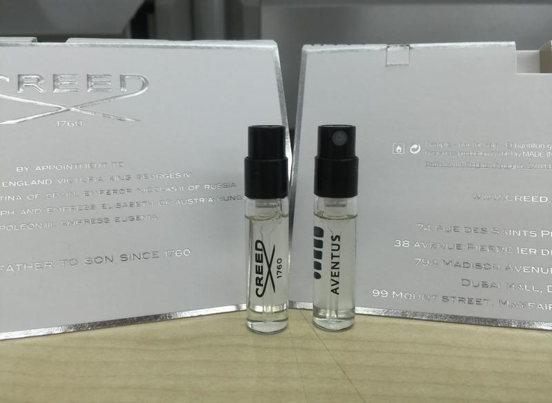 Creed aventus for men_original mini 2,5 мл_миниатюра пробник vial - Фото 5