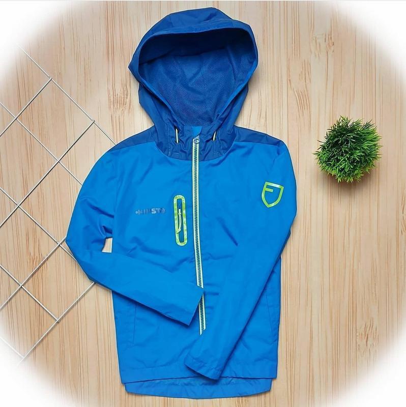 Ветровка, куртка синяя, курточка спортивная