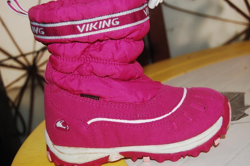 Viking зимние сапожки 25 размер
