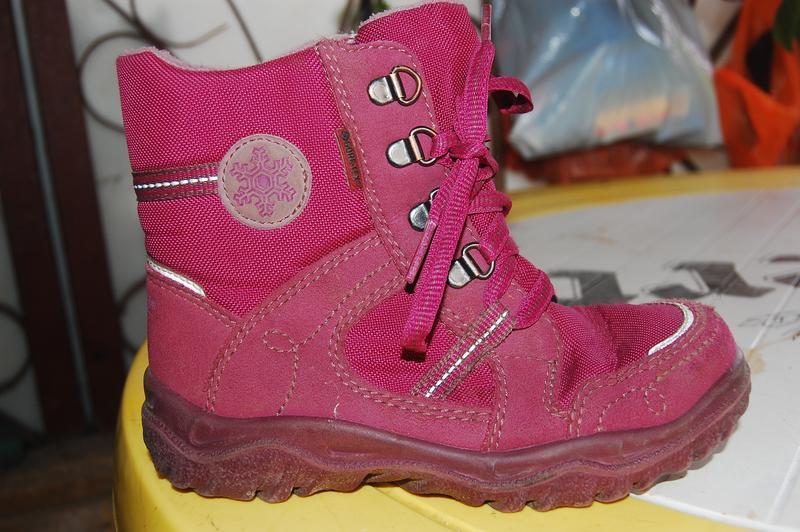 Зимние ботинки superfit  30 размер