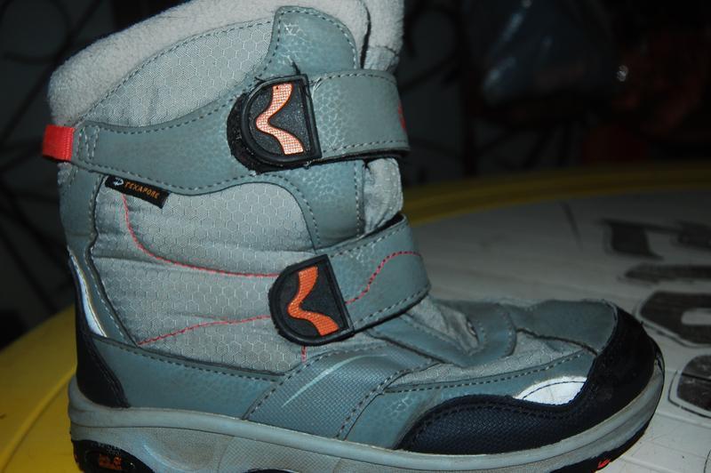 Jack wolfskin зимние ботинки 34 размер