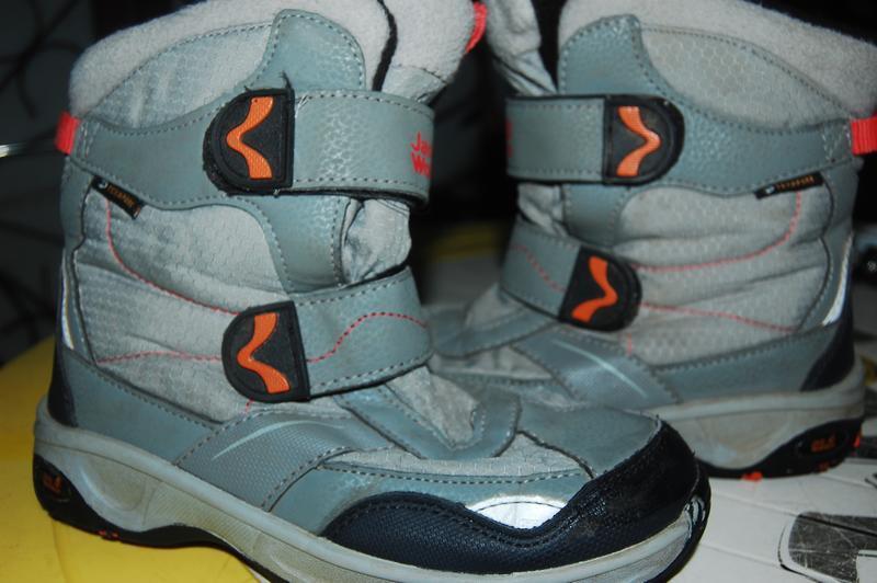 Jack wolfskin зимние ботинки 34 размер - Фото 2