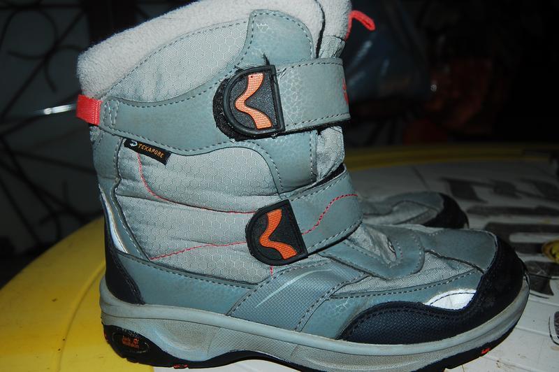 Jack wolfskin зимние ботинки 34 размер - Фото 3