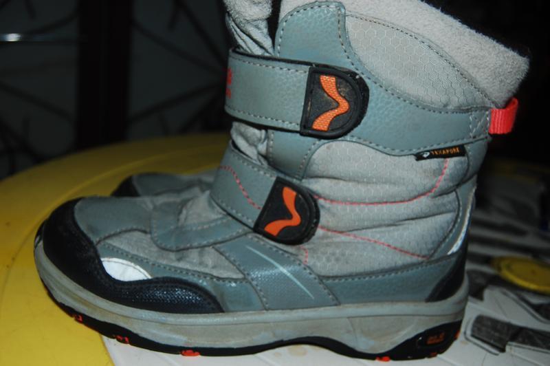 Jack wolfskin зимние ботинки 34 размер - Фото 4