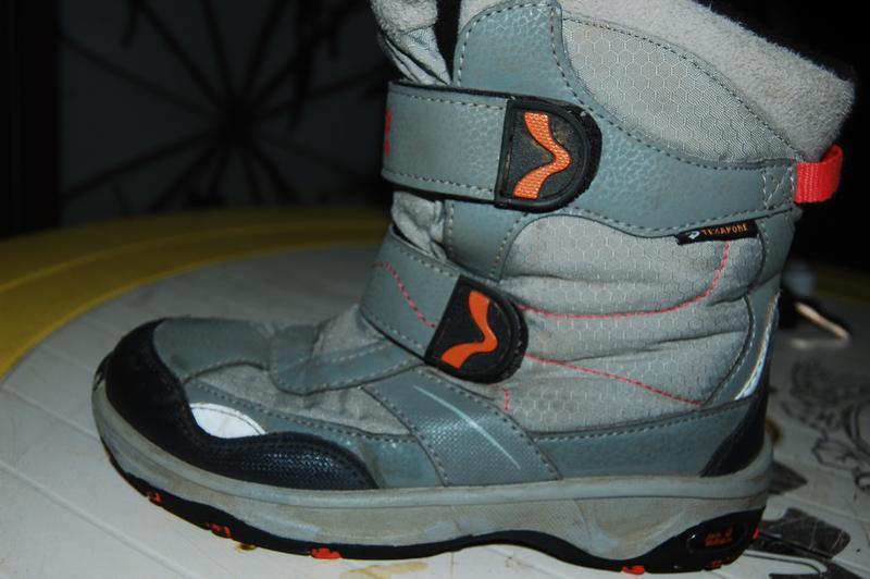 Jack wolfskin зимние ботинки 34 размер - Фото 5
