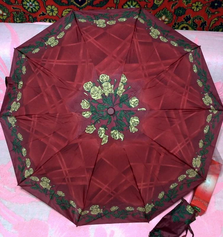 Компактный автомат зонт в дамскую сумочку. - Фото 6
