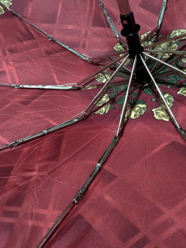 Компактный автомат зонт в дамскую сумочку. - Фото 8