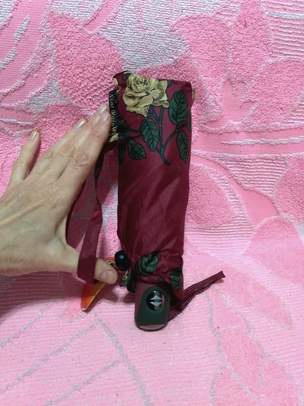 Компактный автомат зонт в дамскую сумочку. - Фото 9