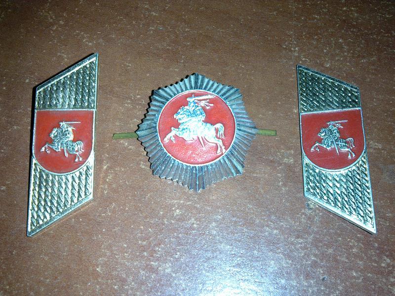 Кокарда и петлицы полиции Литвы оригинал - Фото 3