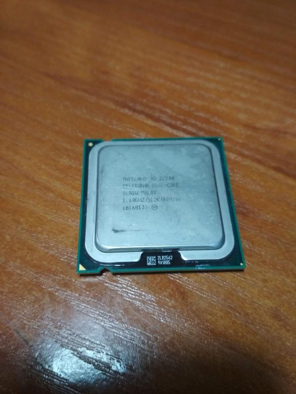 Процессор Intel Celeron Dual-Core E1200 1.60GHz s775