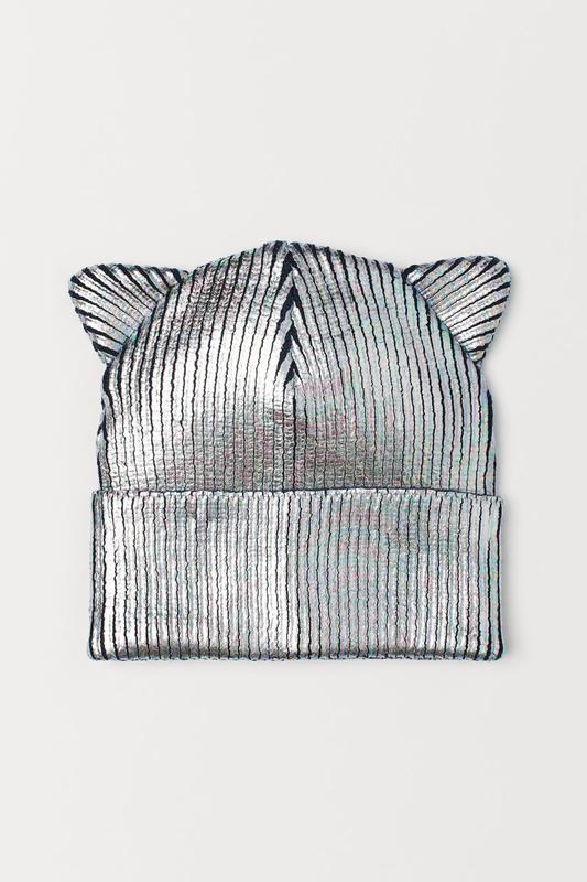 Новая шапочка с ушками h&m
